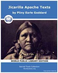 Jicarilla Apache Texts, Score Nam Jat Volume Vol. VIII. by Goddard, Pliny Earle