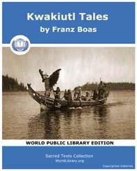 Kwakiutl Tales, Score Nam Kt Volume Vol. II by Boas, Franz