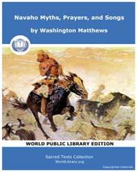 Navaho Myths, Prayers, and Songs, Score ... by Matthews, Washington