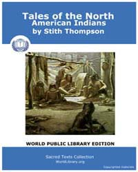 Tales of the North American Indians by Thompson, Stith