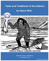 Tales and Traditions of the Eskimo by Rink, Henry