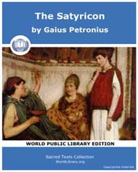 The Satyricon, Score Petro Satyrlat by Petronius, Gaius