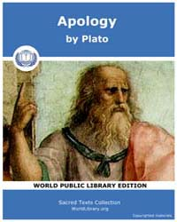 Apology, Score Plato Apology by Plato