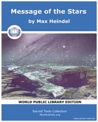 Message of the Stars by Heindel, Max