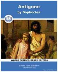 Antigone, Score Soph Antigone by Sophocles