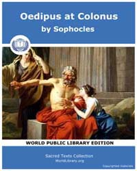 Oedipus at Colonus, Score Soph Colonus by Sophocles