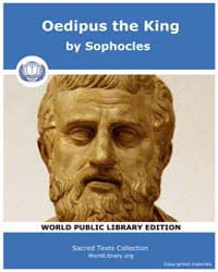 Oedipus the King, Score Soph Oedipus by Sophocles