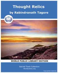 Thought Relics by Tagore, Rabindranath