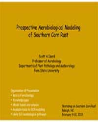 Prospective Aerobiological Modelingof So... by Technical Books Center