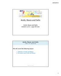 Acids, Bases and Salts by Technical Books Center