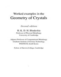 Worked Examples in the Geometry of Cryst... by Bhadeshia, H.K.D.H.