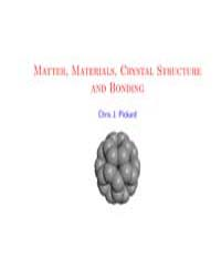 Matter, Materials,crystal Structure and ... by Pickard, Chris J.