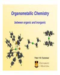 Organometallic Chemistry Between Organic... by Budzelaar, Peter H.M.
