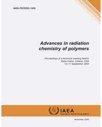 Advances in Radiation Chemistry of Polym... by Technical Books Center