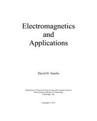 Electromagnetics and Applications by Staelin, David H.