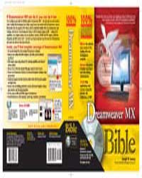 Dreamweaver Mx Bible by Lowery, Joseph W.
