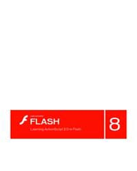 Learning Actionscript 2.0 in Flash, Firs... by Technical Books Center