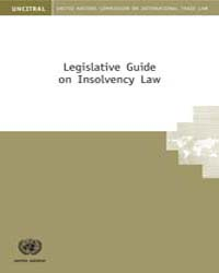 Legislative Guide on Insolvency Law by Technical Books Center