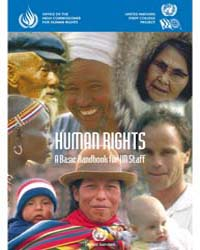 Human Rights a Basic Handbook for Un Sta... by Technical Books Center