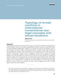 Typology of Armed Conflicts in Internati... by Vite, Sylvain