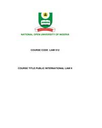 Public International Law by Technical Books Center