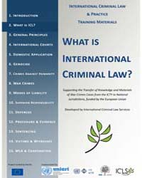 International Criminal Law and Practice ... by Technical Books Center