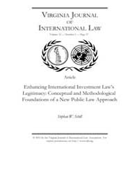 Enhancing International Investment Laws ... by Schill, Stephan W.