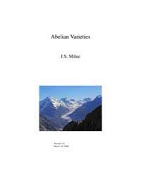 Abelian Varieties ; Algebra by Milne, J.S.
