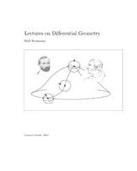 Lectures on Differential Geometry I by Rossmann Wulf