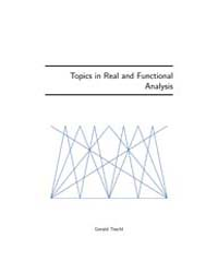 Topics in Real and Functional Analysis by Teschl, Gerald