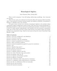 Homological Algebra I, Number 2 by Swanson, Irena