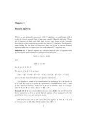 C Star Algebras ; Mathematical Analysis by Wilde, Ivan F