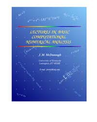 Lectures on Basic Computational Numerica... by McDonough, J. M.