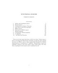Functional Analysis ; Mathematical Analy... by Remling, Christian