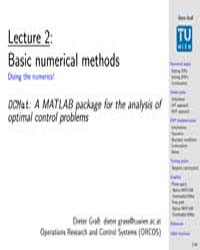 Basic Numerical Methods ; Mathematical A... by Technical Books Center