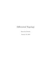 Differential Topology by Bjorn Ian Dunda... by Dundas, Bjorn Ian