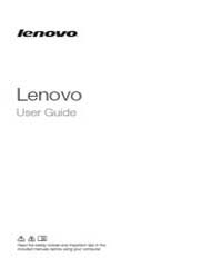 Lenovo User Guide by Technical Books Center