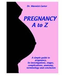 Pregnancy a to Z by Carter, Warwick