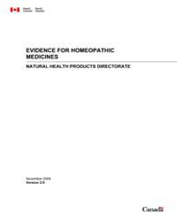 Evidence for Homeopathic Medicines, Vers... by Technical Books Center