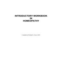 Introductory Workbook in Homeopathy by Crews, Richard L.