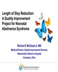 A Quality Improvement Project for Neonat... by McClead Jr, Richard E