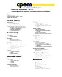 Paramedic Teaching Resource for Instruct... by Foltin, George L.