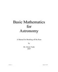 Basic Mathematics for Astronomy by Tiede, Dr. Glenn
