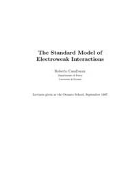 The Standard Model of Electroweak Intera... by Casalbuoni, Roberto