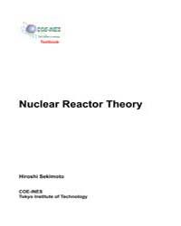 Nuclear Reactor Theory by Sekimoto, Hiroshi