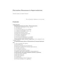 Fluctuation Phenomena in Superconductors by Larkin, Anatoly