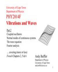 Vibrations and Waves Part 2 by Buffler, Andy