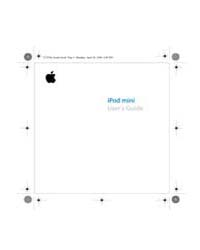 Apple Support Manuals : 0190191 Ipodmini... by Apple Computer Inc.