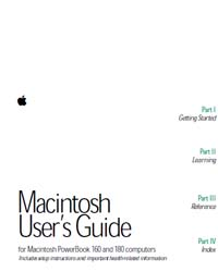 Apple Support Manuals : 0302674Apb160180... by Apple Computer Inc.