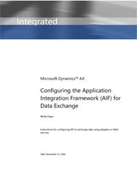 Configuring the Application Integration ... by Microsoft Corporation